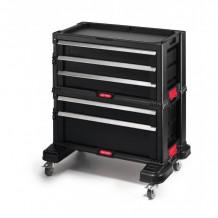 Tööriistakast 5 sahtliga ratastel Drawers Tool Chest Set 56,2x28,9x50,2cm 30199301 KETER