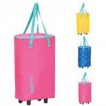 Ratastel termokott Easy Style Bag-Trolley, kollane / sinine / roosa, 1130927, GIO`STYLE