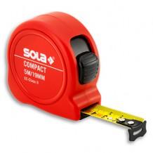 Mõõdulint Compact 19mm x 5m, SOLA