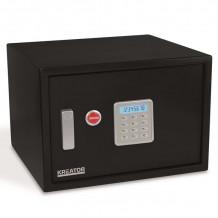 Elektrooniline seif võtmega 438x300x400mm Kreator