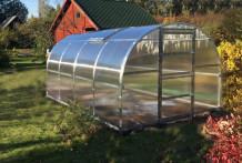 Siltumnīca BALTIC LT 3 x 6m - 4mm polikarbonāta KLASIKA GREENHOUSE