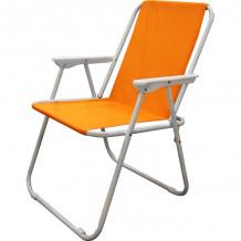Krēsls kempinga 53x44x75cm oranžs