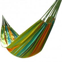 Võrkkiik KUNAYALA 127x230 / 320cm, 100% puuvill, roheline 20657 HOME4YOU