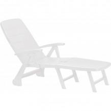 Sauļošanās krēsls Roma balts