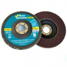 Slīpējamais disks lapiņu 125mm G80 Standard NOVOABRASIVE