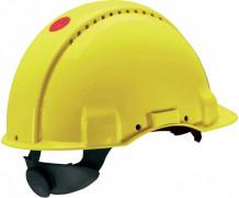 Kaitsekiiver UV-indikaatoriga, kollane G3000NUV-RD, 3M
