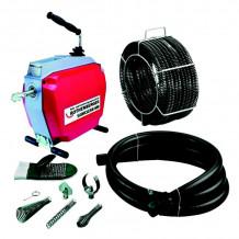 Cauruļu tīrīšanas iekārta R600, 22mm spirāles 72675&ROT, Rothenberger