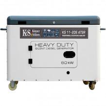 Dīzeļa ģenerators KS 11-2DE ATSR 230V 8000W KONNER & SOHNEN