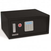 Elektrooniline seif võtmega 200x430x350mm Kreator
