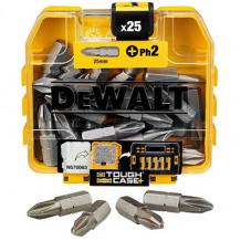 Uzgaļi PH2 25mm (25gab.) DT71522-QZ DEWALT