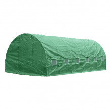 Kasvuhoone, kile, roheline 600x300x200cm Besk