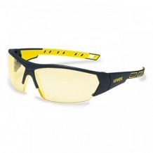 UVEX I-WORKS prillid mustad / kollased