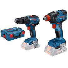 Tööriistakomplekt GDX 18V-200 GSB 18V-55 LB, SOLO 06019J2203 Bosch