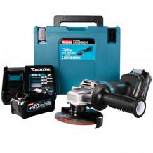 Akumulatora leņķa slīpmašīna 40V GA029GM201 XGT MAKITA