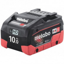 Akumulators 18V / 10,0 Ah LiHD 625549000&MET Metabo