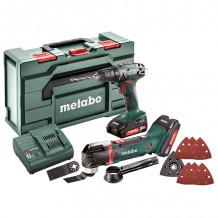 Tööriistakomplekt BS 18 + MT 18 LTX 685081000 & MET Metabo
