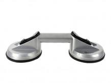 Стеклоподъемник, две присоски 2x11,5 см Aluminium Geko
