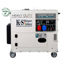 Dīzeļa ģenerators KS 9200HDES-1/3 ATSR Silent (EURO V) 230/4