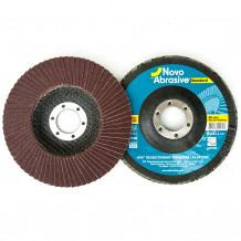 Slīpējamais disks lapiņu 125mm G120 Standard NOVOABRASIVE
