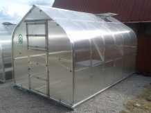 Kasvuhoone KLASIKA STANDART 15 - 2,5 x 6m - 4mm polükarbonaat KLASIKA KASVUHOONE
