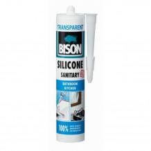 Sanitārais Silikons Silicone Sanitary Caurspīdīgs 280ml 1591314 BISON