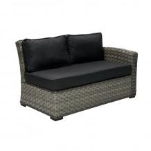Moduļa dīvāns GENEVA ar labo roku balstu, 81x132x78cm, 11903, HOME4YOU