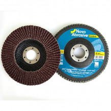 Slīpējamais disks lapiņu 125mm G40 Standard NOVOABRASIVE