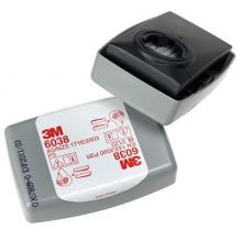 Tahkete osakeste filter 6038 P3 (2tk) 3M