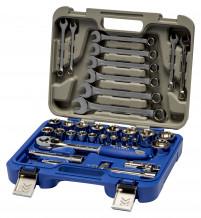 """Tööriistakomplekt 1/2"""" 8-32mm, 8-19mm (33tk.) 129-33W-4 Irimo"""