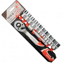 "Tööriistakomplekt 1/2 ""10-24mm (12tk.) YT-38821 YATO"