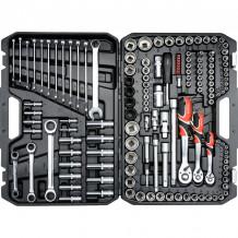 """Tööriistakomplekt 1/4"""", 1/2"""", 3/8"""" (150 tk.) YT-38811 YATO"""