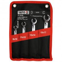 Набор ключей для тормозных шлангов (4 шт.) YT-0143 YATO