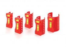 Līmeņrādis caurulēm (5gab.) Kapro