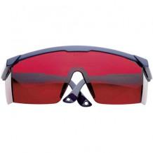 Laseri kiirguse prillid, punased, SOLA