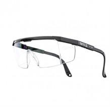 Aizsargbrilles, vaļējas, caurspīdīgi stikli, YATO