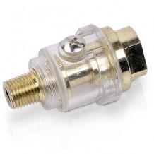 Mini eļļotājs pneimatiskajai gaisa sistēmai 1/4'' Powerplus