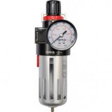 "Ūdens filtrs - separators, ar manometru, 0.93MPa, 1/2"", YATO"