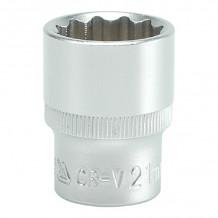 Uzgalis uzgrieznim 12-kanšu, 21.0mm, 1/2'',  CrV YATO
