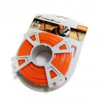 Aukla trimmerim Ø 2.4mm (43m), kvadrāts, oranža STIHL