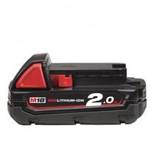 Akumulators 18 V 2 Ah M18 B2 4932430062 Milwaukee