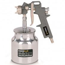 Pneumaatiline pihustuspüstol 1,5mm, 130-210g / min Powerplus