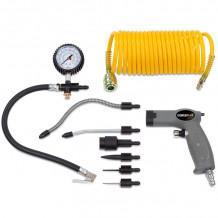 Rehvipumpamise komplekt  otsikutega (6 tk) POWAIR0022 Powerplus