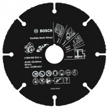 Cietmetāla disks kokam, PVC Ø125x1x22.23mm 2608623013 Bosch