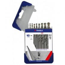 Metallipuur HSS Clipster PRO 1-10mm (10tk.) TIVOLY