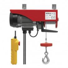 Elektriskā vinča, 900W, 250/500kg YATO