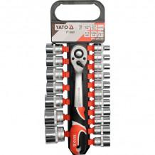 """Tööriistakomplekt 1/2 """"(19tk.) YT-38681 YATO"""