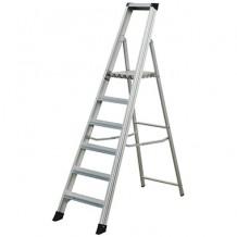 Kāpnes, 6 pakāpieni, profesionālas, alumīnija, 1.27m ELKOP