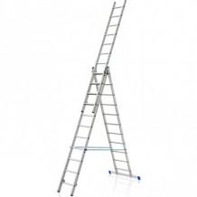 Kāpnes VHR 3x11 pakāpieni, alumīnija, 6.33m (3x2.94m) ELKOP