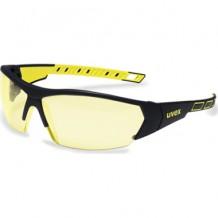 Prillid i-Works kollased prillid, must / kollane Uvex