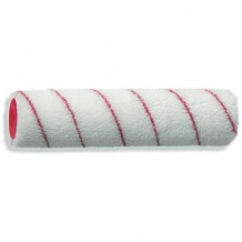 Värvirull 25cm Ø40mm, 12mm, polüakrüül, punased triibud